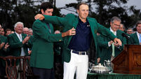 Green Jacket gets Jordan Spieth so fired up