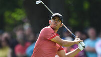 'Awesome day' sees Pablo Larrazabal leading