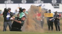 History bites the dust for Mickelson but healthy lead intact at The Open