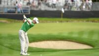 Gavin Moynihan inches away from hole-in-one but makes his first Irish Open cut