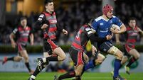 Ankle operation ends season for Leinster's Josh van der Flier