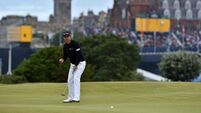 Relaxed Padraig Harrington still in love with the game