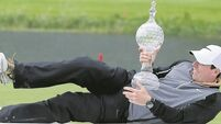 Rory McIlroy powers through closing holes to realise Irish Open dream