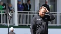 Shane Lowry's putter woes prove costly at Woburn