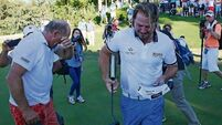 Victor Dubuisson's title as Shane Lowry straightens up