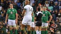 CJ Stander to learn fate today after 'harsh' red card