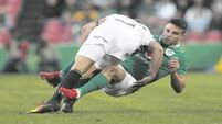 Ireland come back to sea level and down to earth with a bump against South Africa