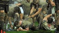 Leinster earn bonus point with Dan Leavy try