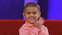 This adorable little boy is an absolute maths genius