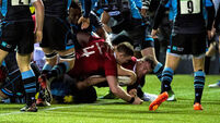 Munster's Pro12 play-off hopes fade