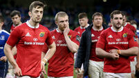 Keith Earls and Darren Sweetnam dejected after the game 2/4/2016