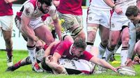 Tommy Bowe returns as Ravens edge Munster A