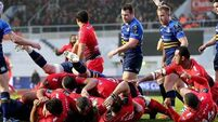 Toulon score their first try 13/12/2015