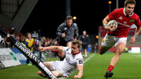 Munster hang on in nine-try thriller