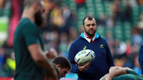Cheika accidentally reveals Wallabies' game-plan for Rugby World Cup final
