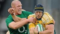 Munster's Mark Chisholm proud of Wallabies