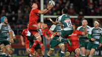Munster v Leicester Tigers - European Rugby Champions Cup - Pool 4 Round 3