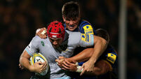 Donncha O'Callaghan sees red as Leicester Tigers sharpen up
