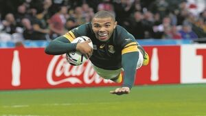 Bryan Habana: 'I chased Lomu into bathroom'
