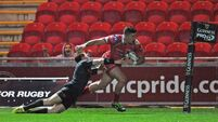 Scrapping Scarlets shock Munster