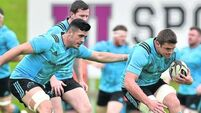 Mario Sagario steps into breach for Munster