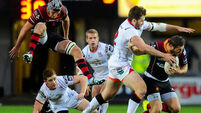 Ulster survive battle with Newport Gwent Dragons