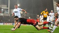 Ulster left out in the cold by Saracens