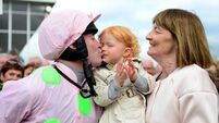 Clondaw Warrior gives David Casey the perfect birthday present