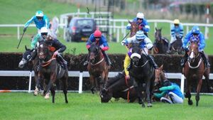 The King Of Brega rules for Dylan Robinson in Galway Plate Trial