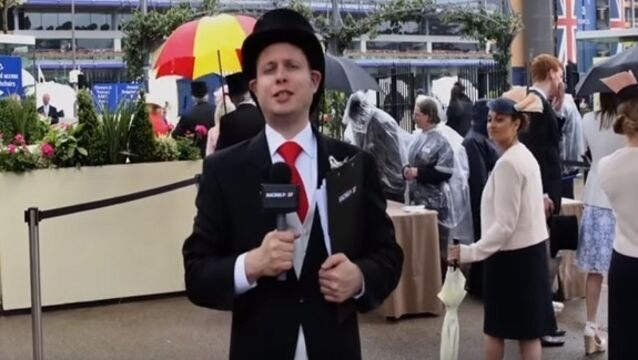 Racing Post reporter provides hilarious commentary of racegoers at Royal Ascot