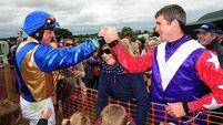 Derek O'Connor weighs in with treble for three different handlers