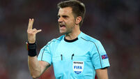 The world will be watching the referee as Ireland bid for glory against France