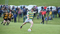 John Hayes penalty is extra special for Carbery Rangers