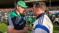 Davy Fitzgerald with TJ Ryan 9/7/2016