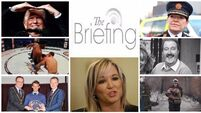 Evening briefing: Michelle O'Neill appointed as Sinn Féin leader in Stormont. Catch up on the headlines