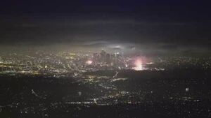 Watch the skies over Los Angeles light up with Fourth of July fireworks
