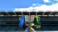 Snap-happy fans get duped with mock Sam Maguire Cup