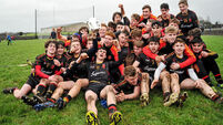 Peter Casey stars as Niall Moran's Ardscoil Rís march on