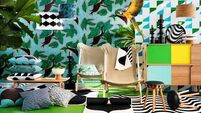 Burst into the jungle theme - the home interiors trend of the moment