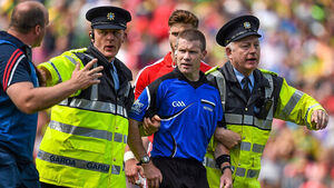 Cork silent on referee Pádraig Hughes appointment