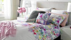 Put away the winter duvet and lighten up your bed linen for summer