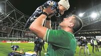 CJ Stander holds the line while others cross it on social media