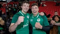 Hernan: Ireland U20s looking forward to locking horns with Farrell's squad at CIT