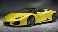 Lamborghini Spyder may be soft on top but is totally hard-hitting