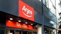 Argos sales improve ahead of formal bids