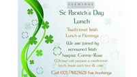 The Menu: St Patrick's Day lunch at Fleming's Restaurant, Cork