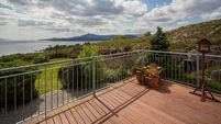 Glengarriff bungalow has elevated views over scenic Bantry Bay