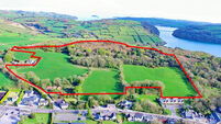 Farmland for sale in West Cork village of Leap
