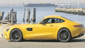 The 2016 Mercedes AMG GT S is evoking the spirit of 1960s gullwing SL