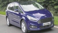 Dynamic Ford S-Max still does the business